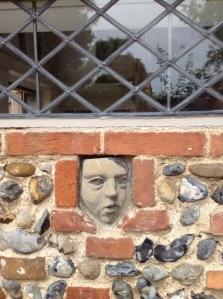 head in wall